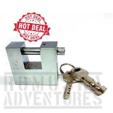 Romusha Gembok Kotak Sorong 50mm / Security Padlock Serbaguna Kunci Samping