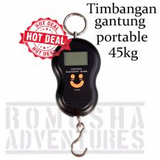 Romusha Timbangan Gantung 50 KG Backlight Portable Digital Scale Smile