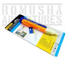 Romusha Universal Pen Non Contact AC Voltage Detector / Tespen Bunyi  / Alat deteksi Listrik