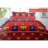 Ronaco Bonita Sprei King Size 3D Barcelona Fc 180X200 Cm Asli