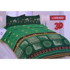 Promo Ronaco Bonita Sprei King Size 3D Lorenzo 180X200 Cm Akhir Tahun