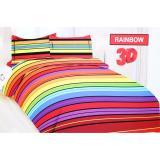 Jual Ronaco Bonita Sprei King Size 3D Motiv Rainbow 180X200 Cm Antik
