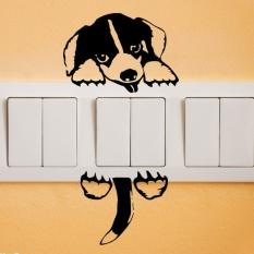 Toko Rorychen Kreatif Kepribadian Anjing Dekorasi Rumah Saklar Stiker Stiker Dinding Intl Termurah Di Tiongkok