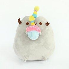 Dapatkan Segera Rorychen Donuts Cat Ice Cake Cat Cookies Pougou Pusheen Boneka Kucing Plush Boneka Mainan Intl
