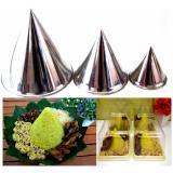 Jual Rosita 3Pcs Cetakan Nasi Tumpeng Stainless Steel Branded Murah