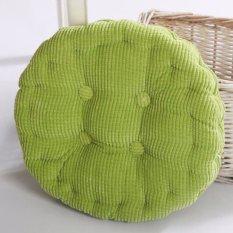Round Corduroy Kursi Bantal Kursi Pelapis Lembut Lembut untuk Kantor/Rumah Duduk (Tebal: 8-10 Cm)-Intl