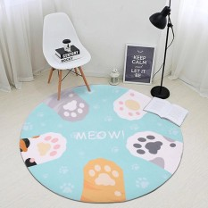 Sepanjang Lantai Tikar dan Karpet Mudah Dicuci Karpet untuk Kamar Tidur Komputer Kursi Karpet Anak Bermain Bantalan Yoga Alas 80 Cm -Internasional