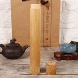 Spesifikasi Round Portable Handmade Natural Bambu Teh Jar Wadah Kotak 2 5X23 Cm Intl Baru