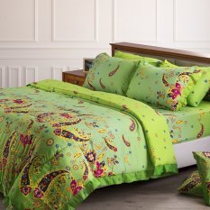 Promo Toko Royalinen Set Bed Cover Seprai Alvita 280 Tc