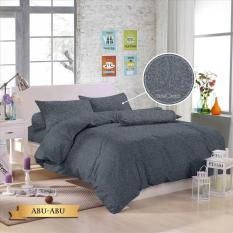 Royals Bed Cover Set Sprei Polos Jacquard 160x200 (20 Aneka Warna)
