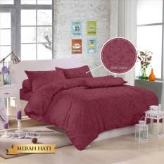 Spek Royals Bed Cover Set Sprei Polos Jacquard 180X200 20 Aneka Warna Royal