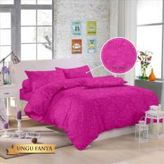 Royals Bed Cover Set Sprei Polos Jacquard 180x200 (20 Aneka Warna)