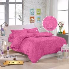 Jual Royals Sprei Jacquard Emboss Uk 120 T 30 Pink Tua Branded