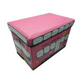 Beli Ruibao Bangku Kotak Serbaguna Karakter Buss Pink Cicilan