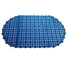 Beli Ruibao Keset Kamar Mandi Mat Anti Selip Biru 1 Kredit