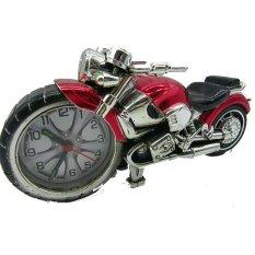 Ruibao Moto Alarm Clock Jam Weker - Merah
