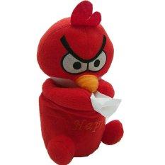 Harga Ruibao Tempat Tissue Bird Merah Fullset Murah