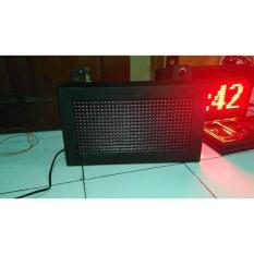 Running Text Moving Sign LED Display 16X32 Full Outdoor Diskon