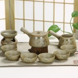 Spesifikasi Ruyiyu China Keramik Porselen Cina Kung Fu Tea Set Kasar Pottery Tea Pot Mangkuk Teh 10 Pack Lotus Intl Ruyiyu