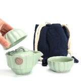 Katalog Ruyiyu Outdoor China Keramik Porselen Cina Kung Fu Tea Set Dengan Tas Ru Klin Pot Teh Keramik Cover Bowl Kendaraan Mount Travel Tea Set Portable Outdoor Travel Tea Tet 3 Pack Intl Terbaru