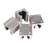 Pusat Jual Beli S F Pack Of 4 Sbr20Uu 20Mm Aluminum Linear Router Motion Bearing Solide Block C Tiongkok