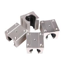 Review S F Pack Of 4 Sbr20Uu 20Mm Aluminum Linear Router Motion Bearing Solide Block C Terbaru