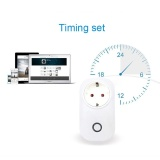 Promo S20 Telepon Wifi Wireless Remote Control Switch Smart Power Socket Plug Untuk Sonoff Intl