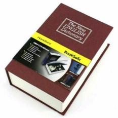 Safe Deposit Box Bentuk Buku Brangkas Tempat Penyimpanan Rahasia Barang Barang Berharga seperti Uang Perhiasan Kunci Kendaraan DLL