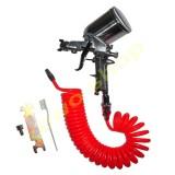 Jual Sagola Spray Gun F75G Spet Cat Semprot Plus Selang Recoil Hose 6 Meter Termurah