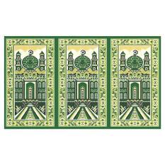 Sajadah ROLL Medeena 105 x 570 cm 21001 Masjid Hijau