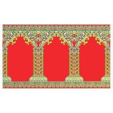 Sajadah ROLL Medeena 105 x 570 cm 21003 Pilar Merah