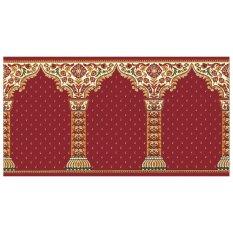 Review Sajadah Roll Rajakhand 120 X 600 Cm 969002 Merah