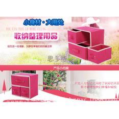 Toko Sakura Kotak Penyimpanan Tipe A 2Susun 3Box Sakura