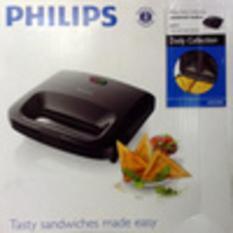 Sandwich Toaster Philips Hd2393 Hitam Jepit Asli- Baru- Garansi Resmi - F6xqjx