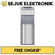 Sanken Hwd-C200-Ss Dispenser 3In1 Bottom Galon Stainless Steel - Wonsgv