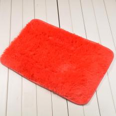 Sanwood® Flokati Shaggy Livingroom Anti-Skid Carpet 40 Cm Oleh 60 Cm-Merah