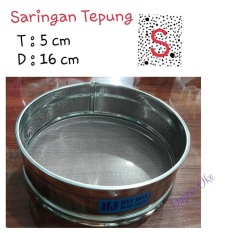 Saringan Tepung/ Ayakan Tepung (S) Stainless Steel