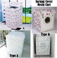 Sarung Cover Mesin Cuci Selimut Anti Air & Panas - X382 Terbaru