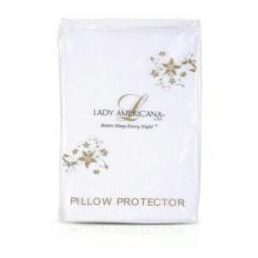 Beli Sarung Pelindung Bantal Lady Americana Waterproof Anti Air Pillow Tidur Cover Case Protection Lady Americana