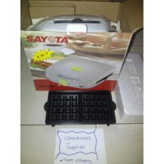 Sayota Sandwich Maker & Waffle Maker Sm609- 1 Alat Utk Membuat 2 Jenis Makanan- Sayota Panggangan