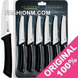 Spesifikasi Scanpan Spectrum Steak Knives Set Black 6Pcs Dan Harga