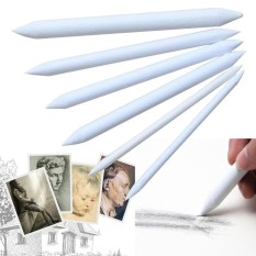 Sekolah Supplies1Set/6 Pcs Double Kepala Khusus Kertas Sketsa Pena Penghapus Pensil Arang Menggambar-Intl