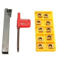 Diskon Produk Sclcl1212H09 Bubut Berputar Pemegang Alat 10 Buah Ccmt09T304 Ccmt3 2 5 1 Kunci