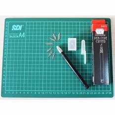Sdi Craft Sets Cutting Mat A4 Pen Type Cutter Indonesia
