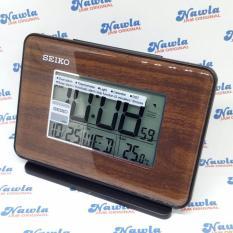 Ulasan Lengkap Seiko Alarm Clock Qhl068 L B Calendar Thermometer Jam Weker Digital