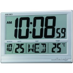 Tips Beli Seiko Qhl056S Jam Dinding Digital 38 3Cm Thermometer Calendar Yang Bagus
