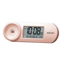 Seiko - QHL067P - Jam Weker Alarm - 13.5cm - Standard Digital Clock