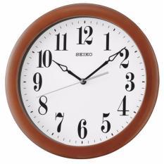 Seiko - QXA674Z - Jam Dinding - 28cm - Standard Wooden Case Wall Clock