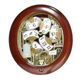 Toko Seiko Wall Clock Qxm340B 18 Melodies In Motion Jam Dinding Qxm340 Dekat Sini