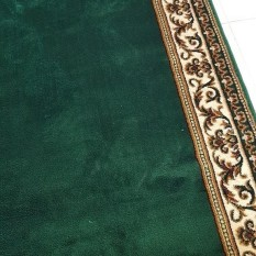 sejadah masjid harga meter warna hijau RAJAKHAND